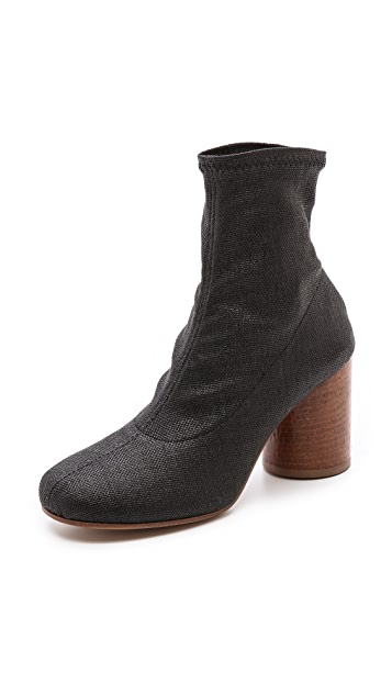 Maison Margiela Booties with Hammered Heel