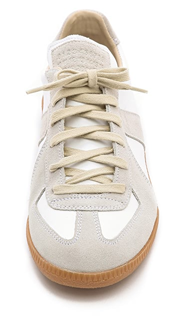 Maison Margiela Leather Low Top Sneakers