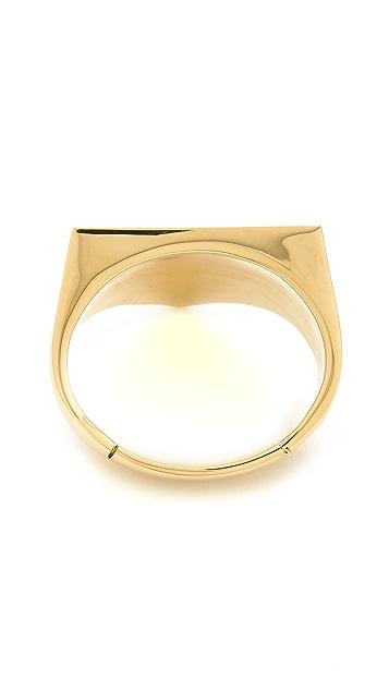 Maison Margiela Gold Tone Bracelet