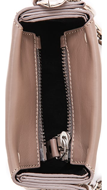 Maison Margiela Leather Mini ID Shoulder Bag