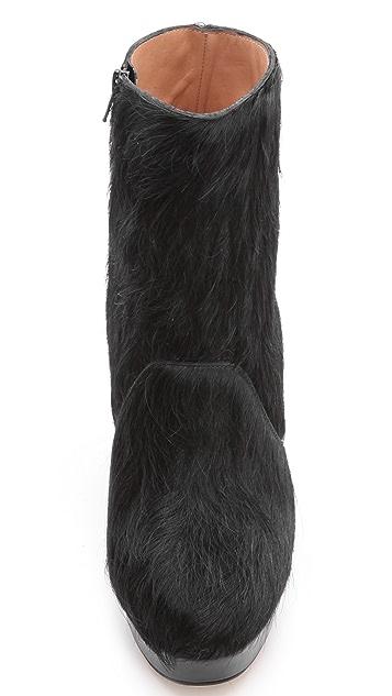 Maison Margiela Fur Block Booties