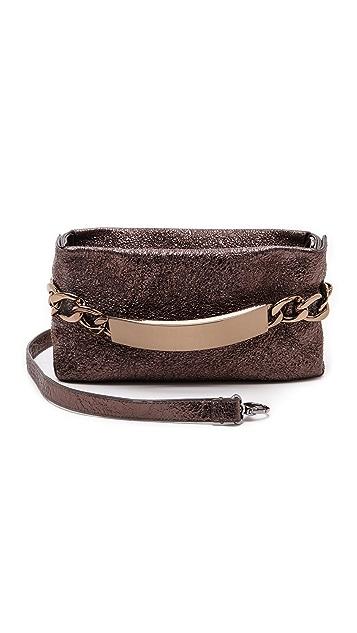 Maison Margiela Crinkled Leather ID Clutch