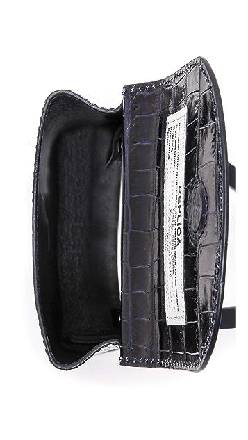 Maison Margiela Embossed Leather Cross Body Bag