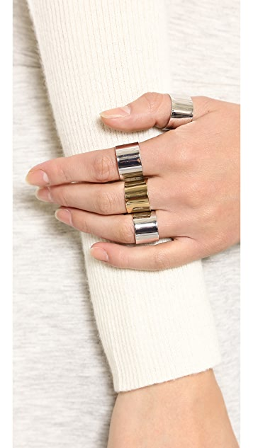 Maison Margiela Four Finger Rings