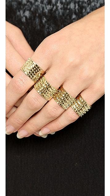 Maison Margiela Four Finger Rings