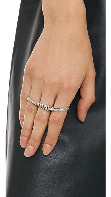 Maison Margiela Triple Finger Ring