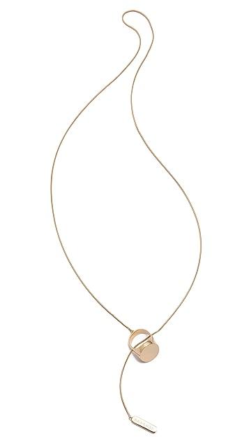 Maison Margiela Ring Lariat Necklace