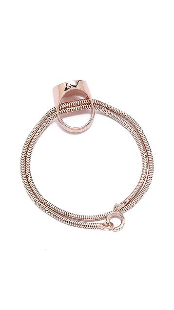 Maison Margiela Rose Gold Tone Bracelet
