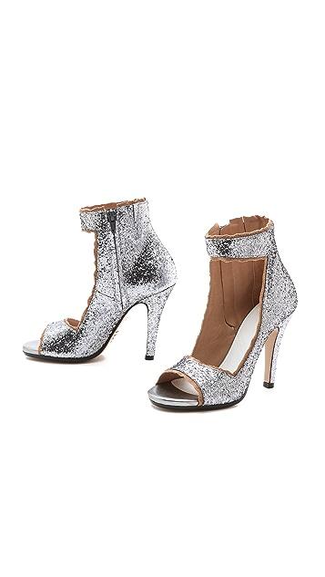 Maison Margiela Glitter Sandals