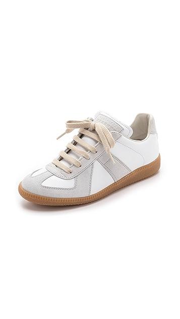 Maison Margiela Leather Sneakers Gr. EU 40