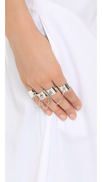 Maison Margiela Four Finger Ring