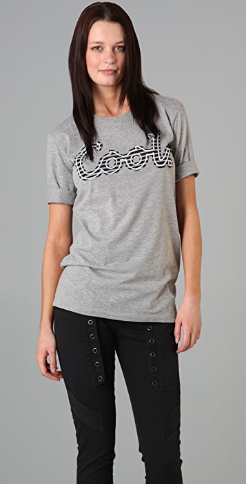Markus Lupfer Cool Embroidered T-Shirt