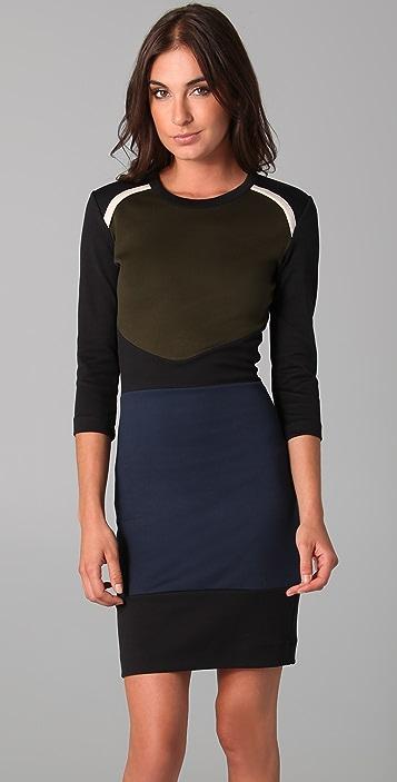 Markus Lupfer Nordic Body Con Dress