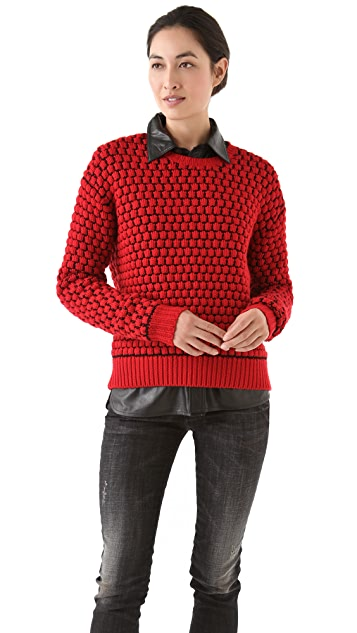 Markus Lupfer Bubble Stitch Sweater
