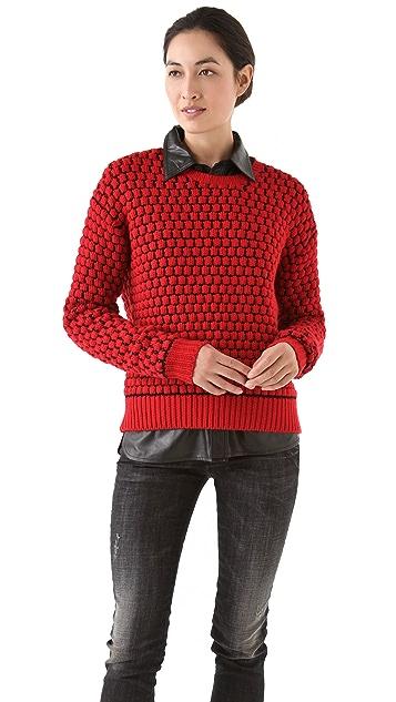 Markus Lupfer Bubble Stitch Sweater