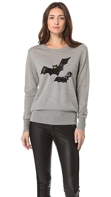 Markus Lupfer Bat Sequin Pullover