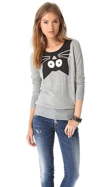 Markus Lupfer Cartoon Kitty Sweater