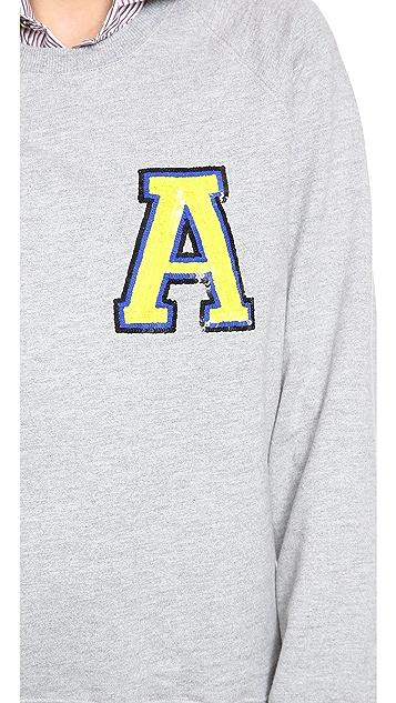Markus Lupfer College Letter Sweatshirt