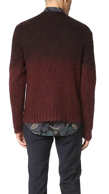 Marni Gradient Crew Neck Sweater