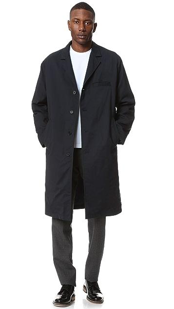 Marni Wrinkled Overcoat