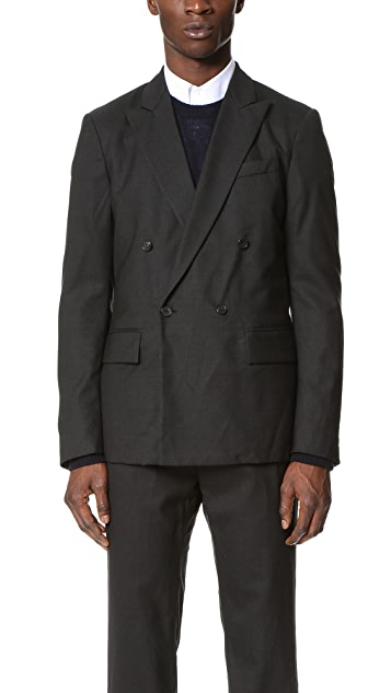 Marni Winkled Double Breasted Blazer