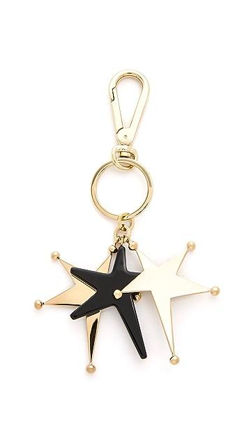 Marni Star Keychain