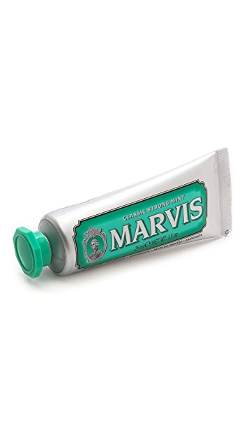 Marvis Classic Strong Mint Travel Size Toothpaste