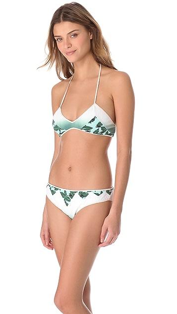 Marysia Swim Kapalua Contrast Triangle Bikini