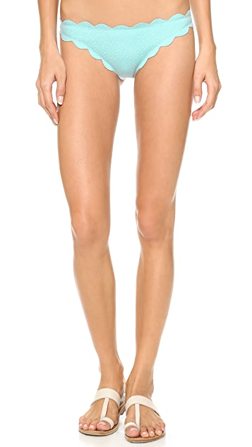 Marysia Swim Scallop Bikini Bottoms