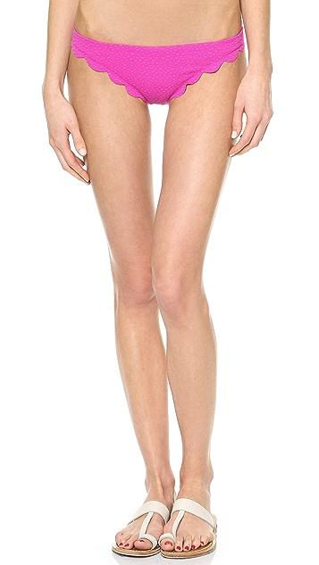 Marysia Swim Scallop Bikini Bottoms
