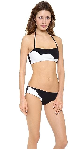 Marysia Tribeca Bandaeu Bikini Top