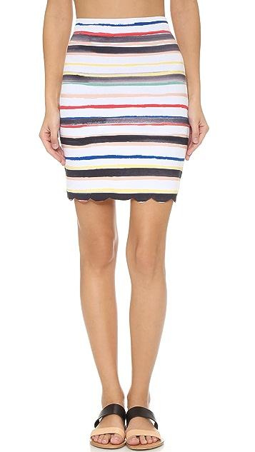 Marysia Montauk Scallop Skirt