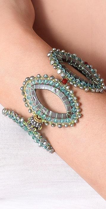 Miguel Ases Freshwater Pearl Bracelet