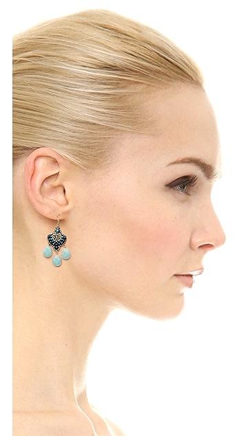 Miguel Ases Mini Hydro Earrings