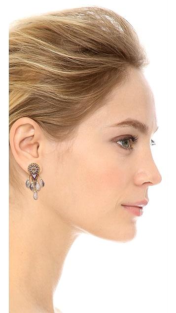 Miguel Ases Teardrop Earrings