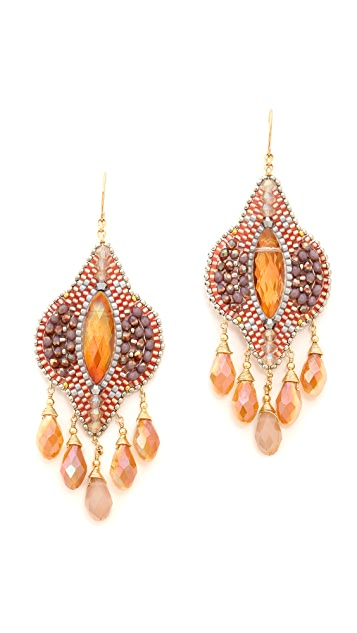 Miguel Ases Sunset Earrings