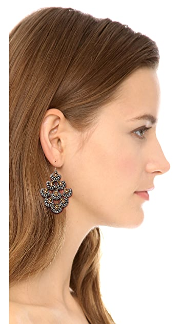 Miguel Ases Scallop Earrings