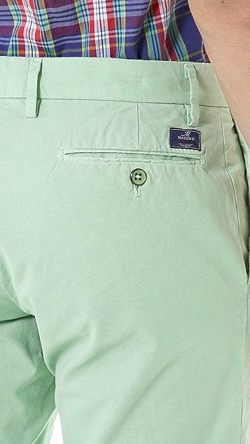 Mason's New York Poplin Shorts