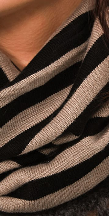 Michelle Mason Striped Hat / Scarf