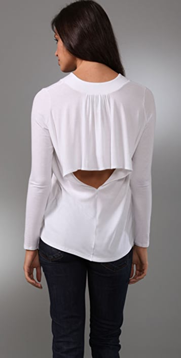 Michelle Mason Open Back Top