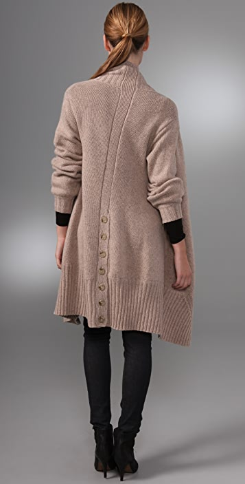 Michelle Mason Blanket Cardigan with Buttons
