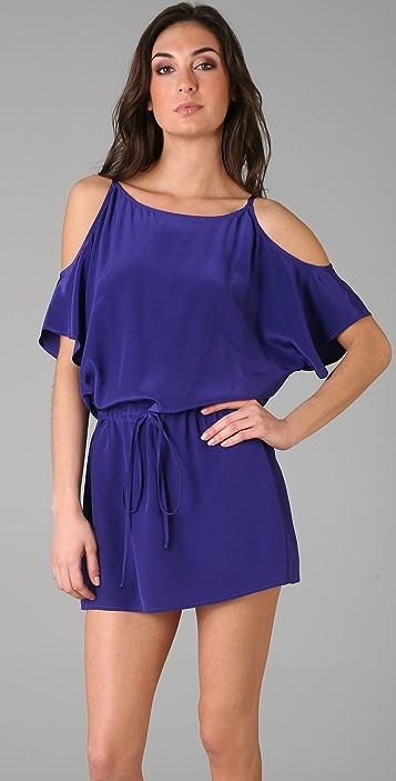 Michelle Mason Open Shoulder Dress