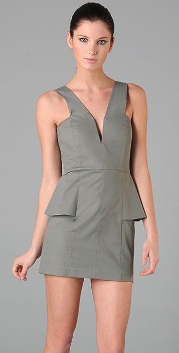 Michelle Mason Peplum Dress