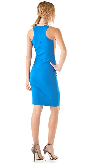 Michelle Mason Tank Dress with Insets