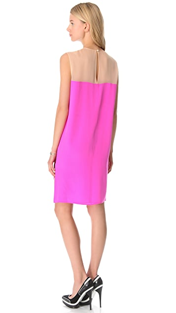 Michelle Mason Shift Dress with Insets