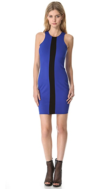 Michelle Mason Tricolor Tank Dress