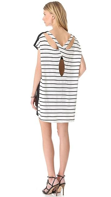 Michelle Mason Open Back Tunic Dress