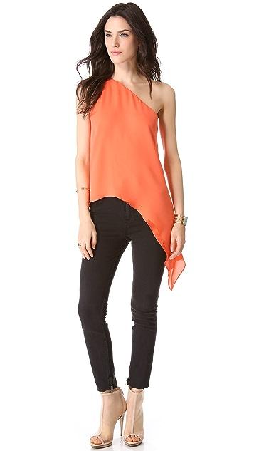Michelle Mason Asymmetrical Camisole