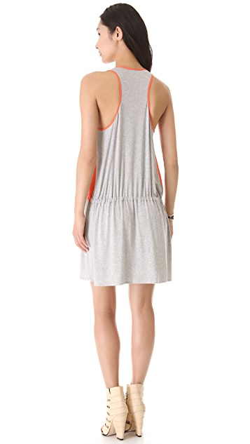 Michelle Mason Silk Front Tank Dress