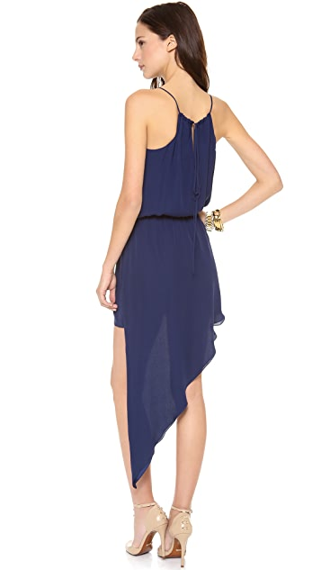 Michelle Mason Asymmetrical Cami Dress